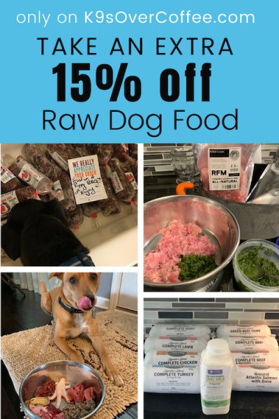 K9sOverCoffee.com | 15% off Promo Codes for Raw Dog Food