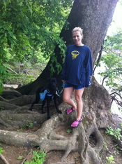 K9sOverCoffee.com | Hiking with Buzz and his dog backpack at Great Falls in Virginia