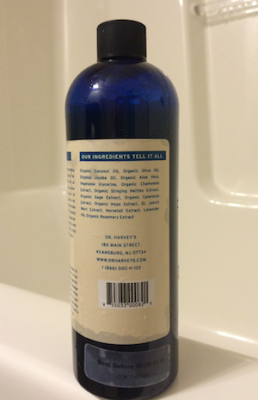 Dr. Harvey's Herbal Shampoo, Ingredients