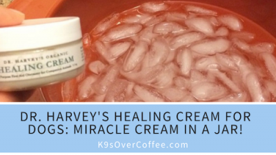 K9sOverCoffee | Dr. Harvey's Healing Cream for Dogs: Miracle Cream in a Jar