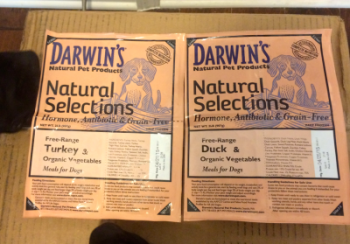 K9sOverCoffee | Darwin's Natural Selections Raw Turkey for Dogs & Raw Duck For Dogs with Organic Vegetables