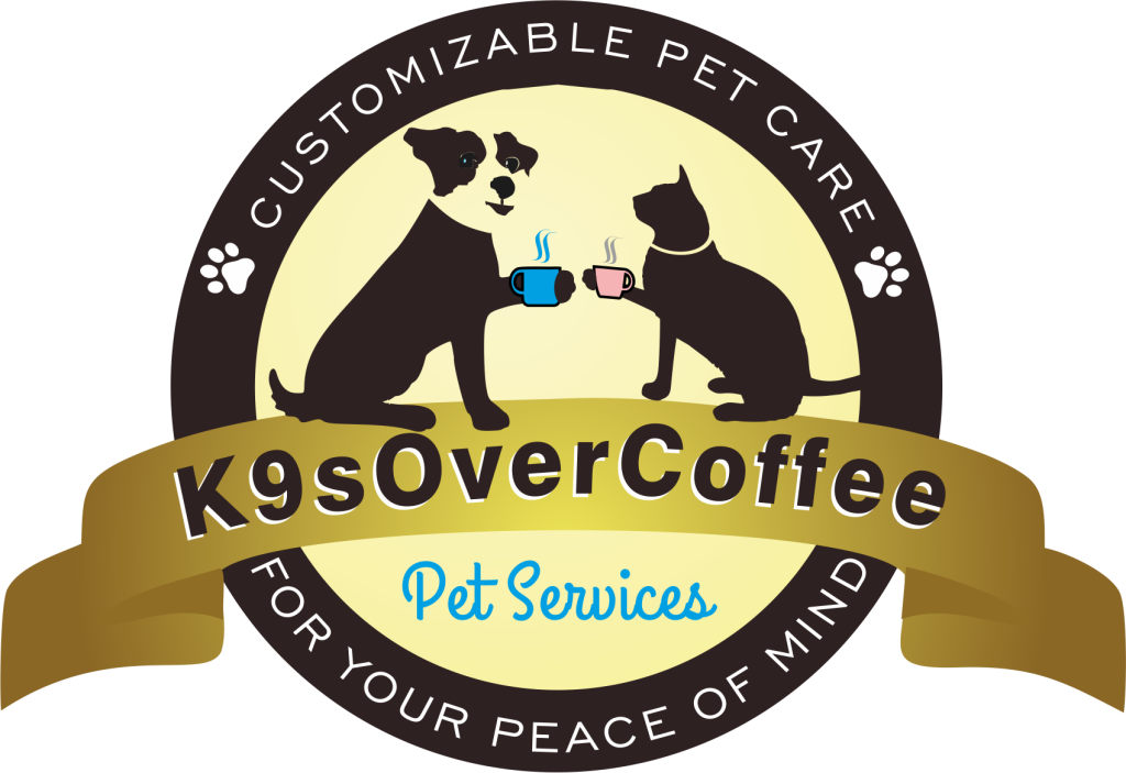 K9sOverCoffee Pet Services Logo