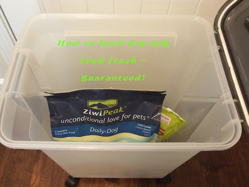 How to keep dry dog food fresh - Guaranteed!