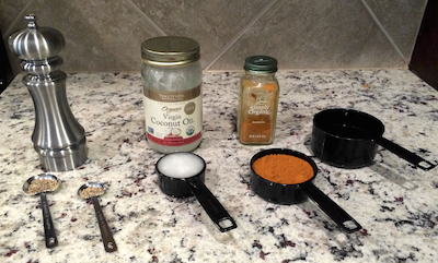 Make Homemade Turmeric Paste with these simple Ingredients!