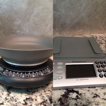 Kitchen Scales for Raw Food Measuring
