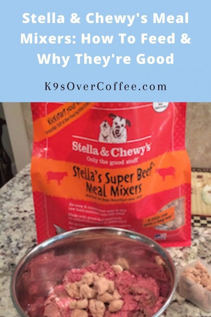 K9sOverCoffee.com | Stella & Chewy's Meal Mixers: How To Feed & Why They're Good