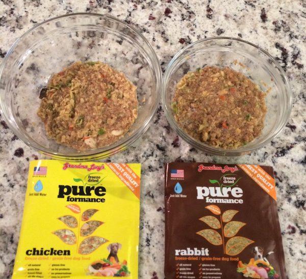 Grandma Lucy's Chicken & Rabbit Freeze-Dried Dog Food