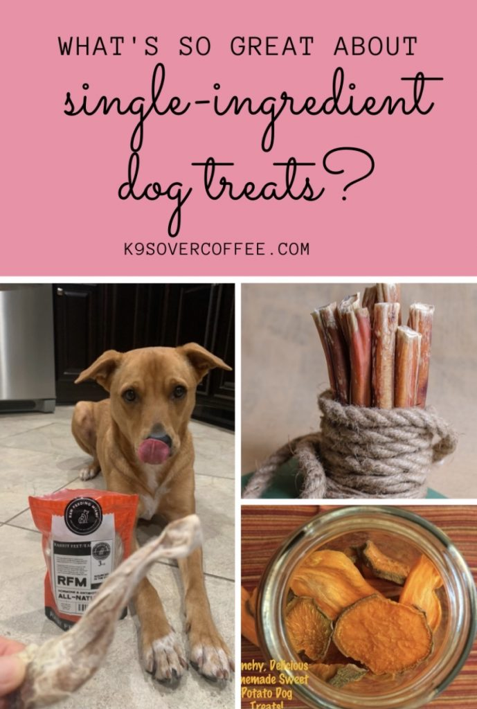 K9sOverCoffee.com | What's so great about single-ingredient dog treats?
