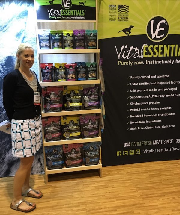 Loving The Product Selection at Vital Essentials Booth At The Global Pet Expo 2016