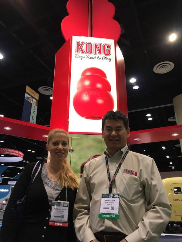 Meeting KONG Brand Rep Minoru at the Global Pet Expo 2016