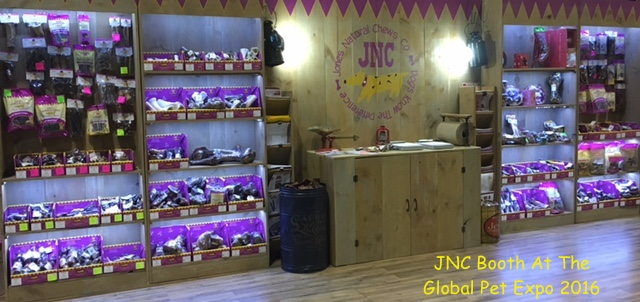Jones Natural Chews Booth At The Global Pet Expo 2016