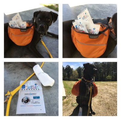 PawFlex Bandages Are Now Part Of Our Hiking Gear