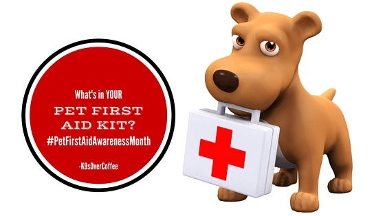 What's In YOUR Pet First Aid Kit? #PetFirstAidAwarenessMonth