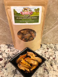 On my list of best single-ingredient dog treats: BooBoo's Best Air-Dried Green Lipped Mussels For Dogs