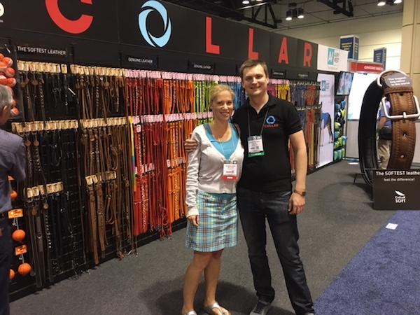 Meeting COLLAR's Alex At Global Pet Expo 2016