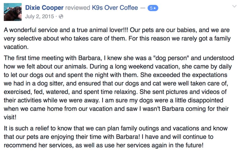 Pet Services Review 2