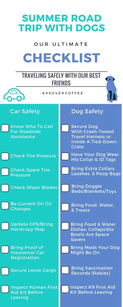 Summer Road Trip With Dogs - Our Ultimate Checklist