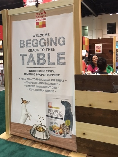 THK Intrducing Their New Food Proper Toppers at The Global Pet Expo 2016