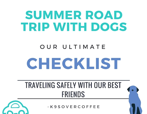 Summer Road Trip With Dogs - Our Ultimate Checklist For Traveling Safely With Our Best Friends