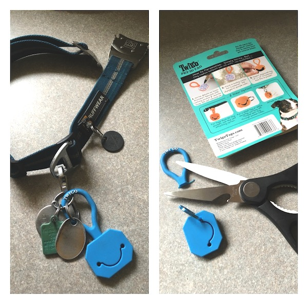 Cutting off the Pet ID Tag loop