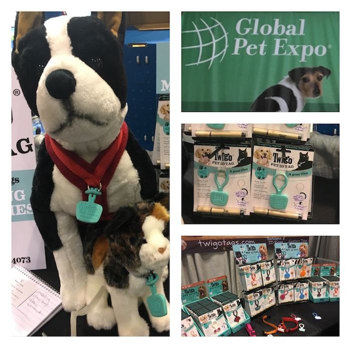 Twigo Pet ID Tags at Global Pet Expo 2016