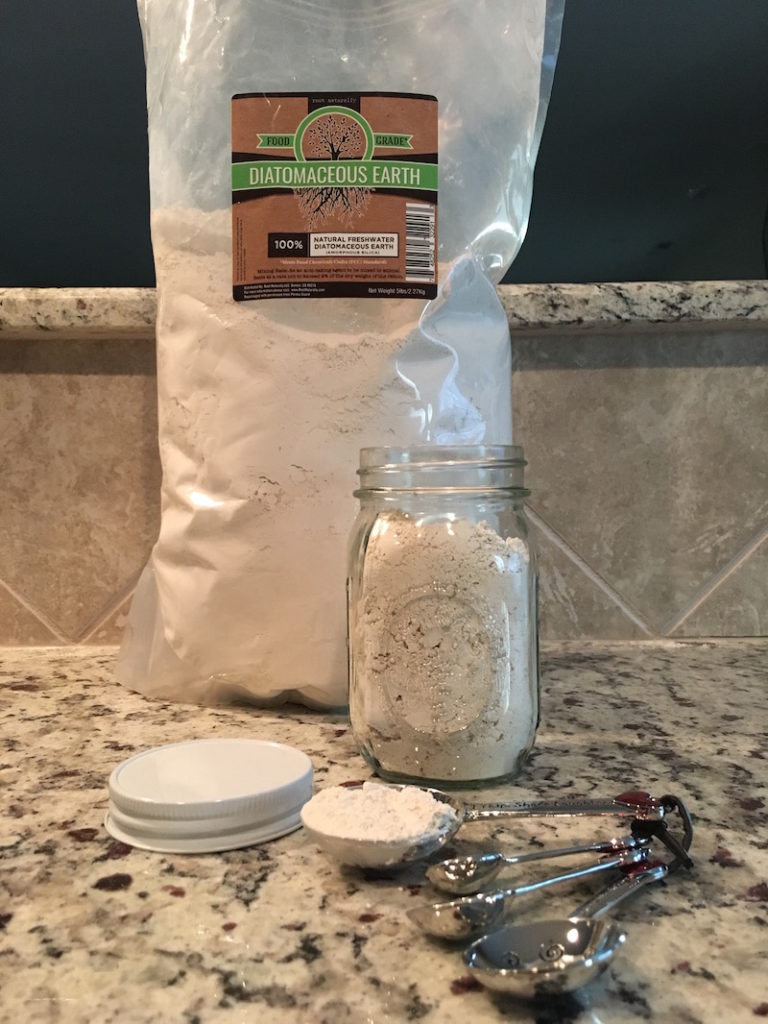 K9sOverCoffee | How I Store My Food Grade Diatomaceous Earth