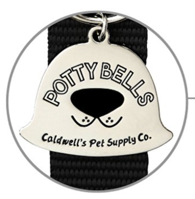 K9sOverCoffee Worked With Caldwell's Pet Supply And Their Potty Bells