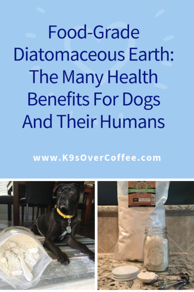 K9sOverCoffee.com | Food-Grade Diatomaceous Earth: The Many Health Benefits for Dogs And their Humans