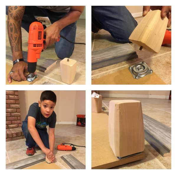 K9sOverCoffee | How We Built A Rustic DIY Dog Bed Frame, Step 1