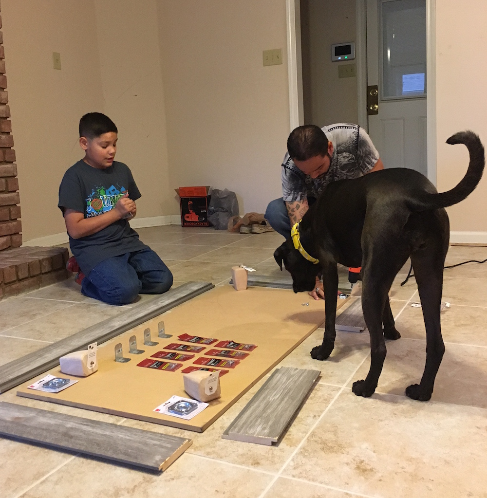 K9sOverCoffee | Missy Checking In On Her Rustic Dog Bed Frame Project