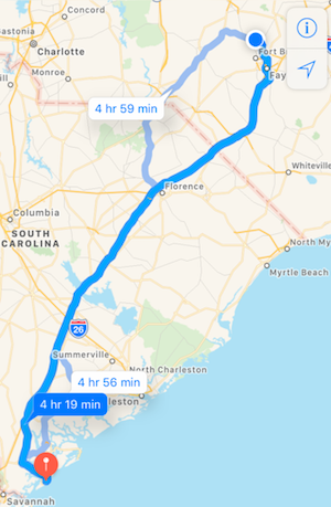K9sOverCoffee | Winter Getaway to Hilton Head Island's Dog-Friendly Red Roof Inn - Mapping Out Our Roadtrip