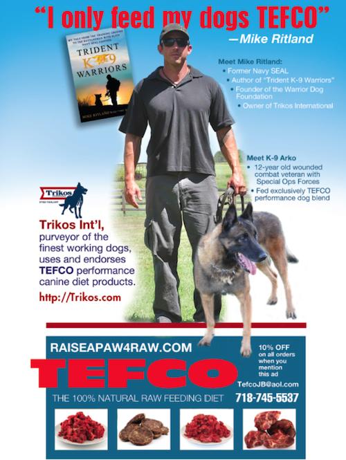 K9sOverCoffee | Mike Ritland Feeds TEFCO Raw Dog Food