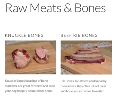 K9sOverCoffee | TEFCO Knuckle Bones & Rib Bones