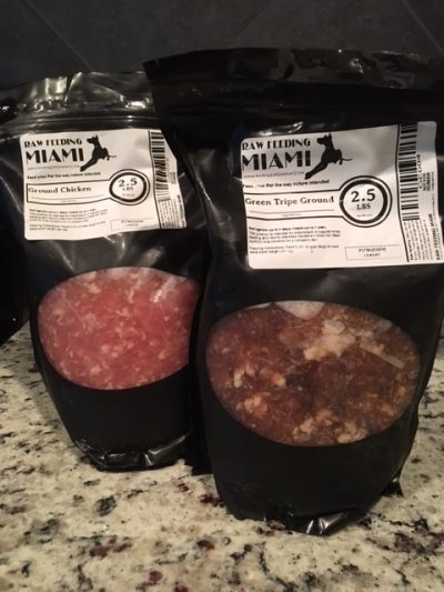 K9sOverCoffee | Putting My Dogs' Raw Meals Together - Part 1- Muscle Meat, Ground Chicken and Green Tripe