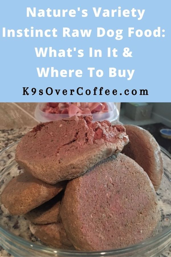 K9sOverCoffee.com | Nature's Variety Raw Dog Food: What's In It And Where To Buy