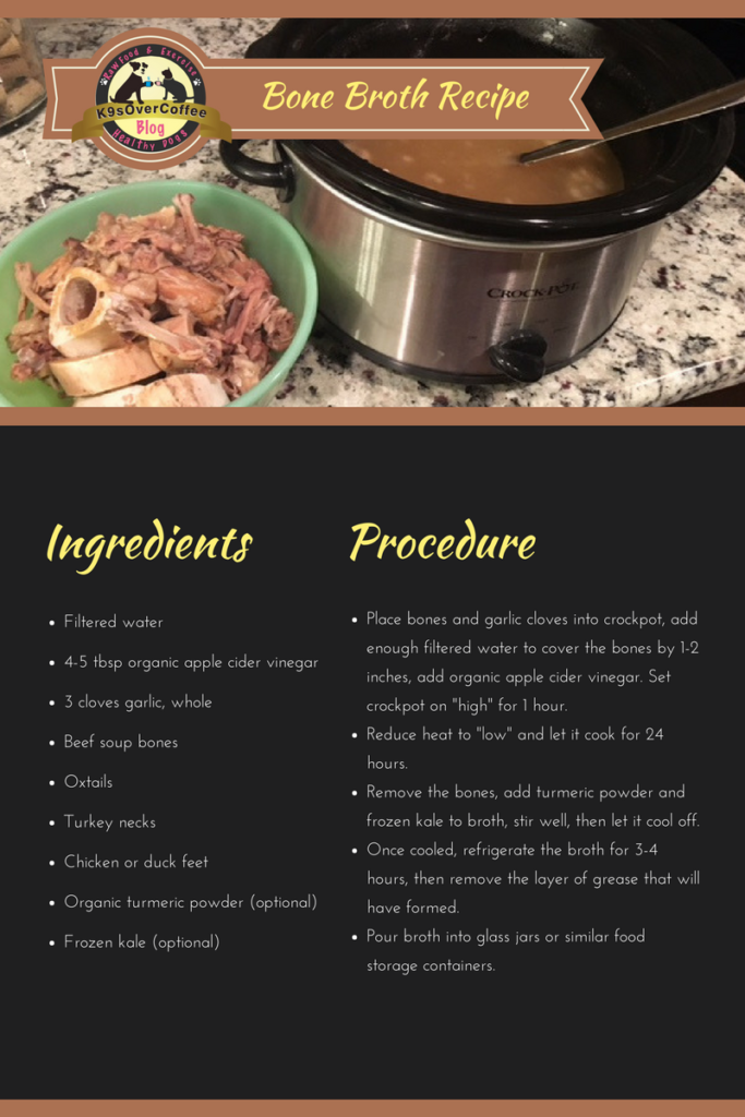 K9sOverCoffee | Bone Broth Recipe