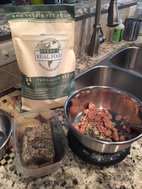 What's the cost of raw dog food? Steve's Real Food and Green Tripe from TEFCO