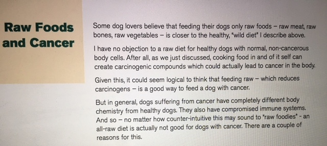 K9sOverCoffee | Excerpt from Dr. Dressler's Ebook The Dog Cancer Diet