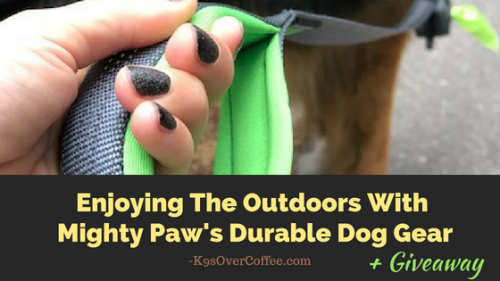 K9sOverCoffee | Enjoying The Outdoors With Mighty Paw's Durable Dog Gear + Giveaway