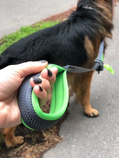 K9sOverCoffee   Mighty Paw's Dual Handle Leash Features Padded Handles