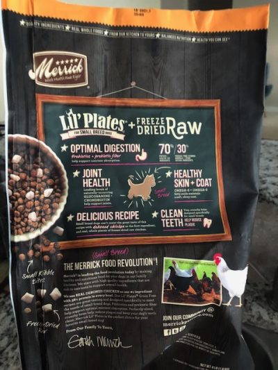K9sOverCoffee | Merick's Lil' Plates + Freeze-Dried Raw Ingredient List