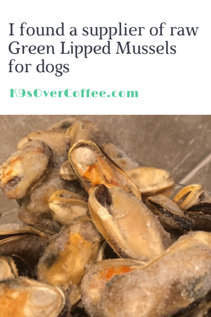 K9sOverCoffee.com | I found a supplier of raw Green Lipped Mussels for dogs