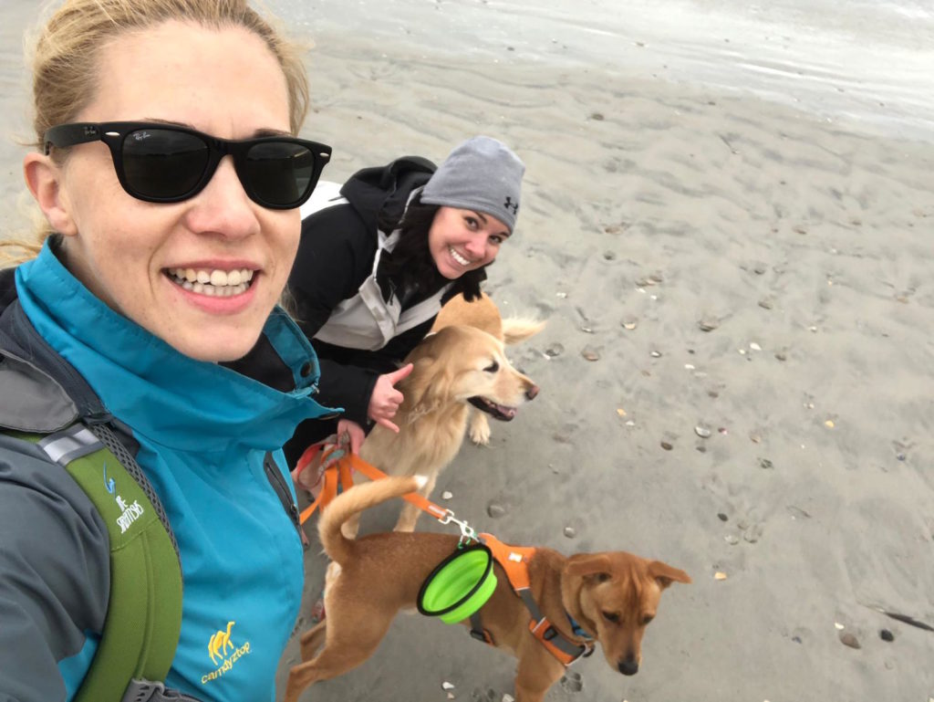 K9sOverCoffee | Trip to Wrightsville Beach, NC, with my friend Laura and our dogs Wally & Lucy