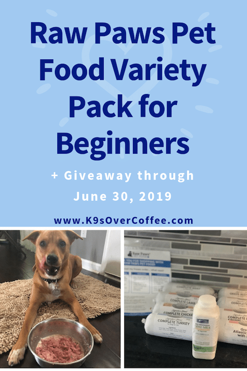 Raw Paws Pet Food Variety Pack for Beginners + Giveaway