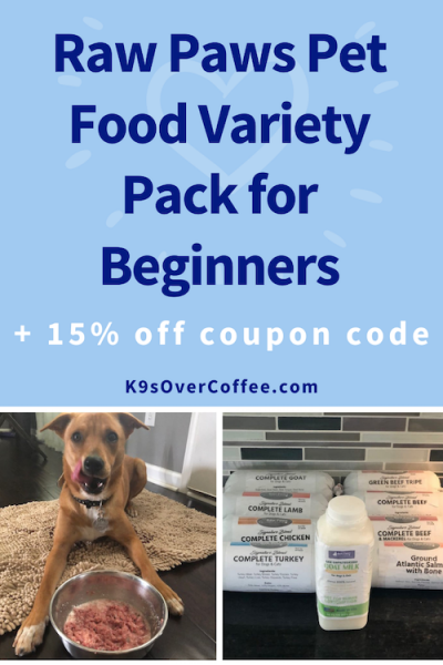 K9sOverCoffee.com | Raw Paws Pet Food Variety Pack for Beginners + 15% off coupon code