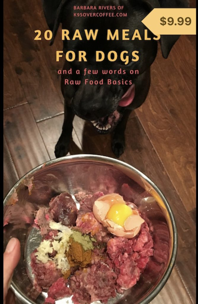 20 raw meals for dogs is a book about raw dog food