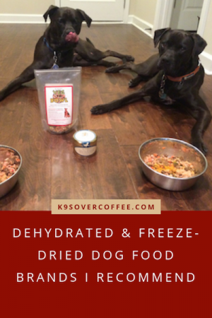 K9sOverCoffee.com | Dehydrated & Freeze-Dried Dog Food Brands I Recommend
