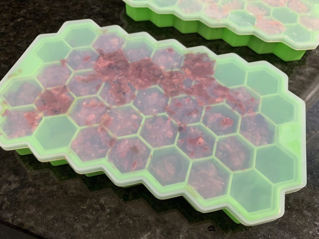 K9sOverCoffee | Wally's silicone icecube trays come with lids