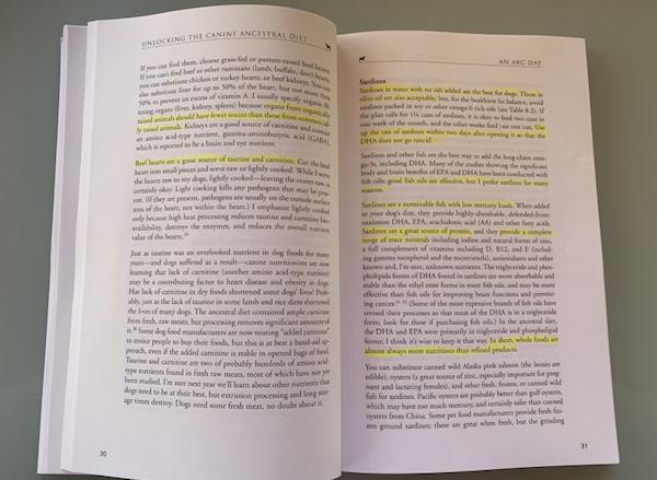 K9sOverCoffee.com | Peeking into Steve Brown's raw dog food book Unlocking The Canine Ancestral Diet