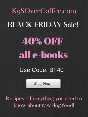 K9sOverCoffee.com | Black Friday Sale 40% off all e-books